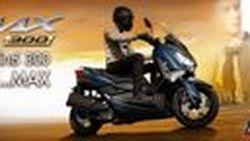 เปิดตัว Yamaha XMAX 300 สีใหม่ NOTHING BUT THE MAX สปอร์ตออโตเมติกพรีเมี่ยมระดับท้อปคลาส