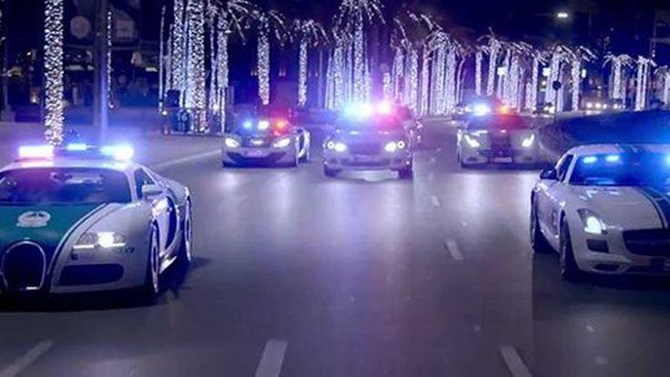 ตำรวจดูไบส่งวีดีโอโชว์ฟลีตรถสายตรวจระดับพันล้าน