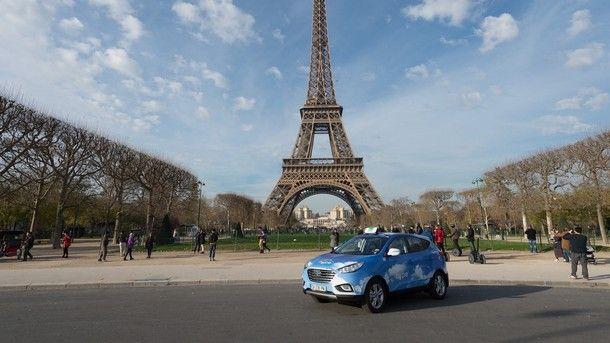 Hyundai คาดการณ์ว่าจะเห็น รถแท็กซี่พลังงานฟลูเซลส์ ในกรุงปารีส มากขึ้นในปี 2020