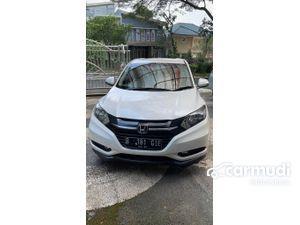 2016 Honda HR-V 1.5 E SUV White on Black Full Standard Good Condition