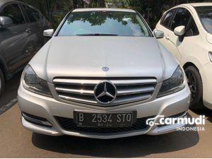 2012 Mercedes-Benz C200 1.8 CGI Sedan Silver on Black Low Miles Full Standard Very Good Condition