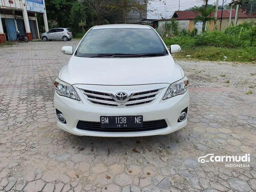 Toyota Corolla Altis 2013 G Sedan Automatic Mobil Bekas Di Riau Rp 155 000 000 7527418 Carmudi Indonesia