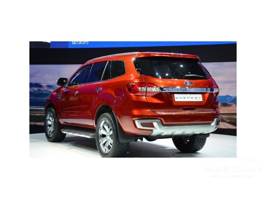 2015 Ford Everest TDCi 2.2 Automatic SUV Offroad 4WD
