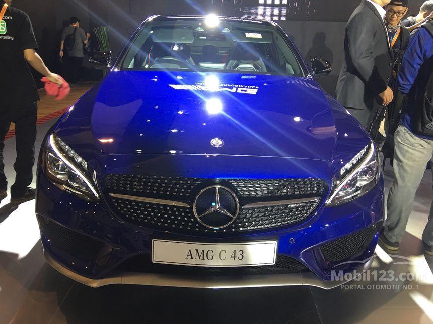 Mercedes Benz C63 Amg 2017 4 0 Di Dki Jakarta Automatic