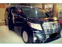 Alphard G AT Black and White Ready