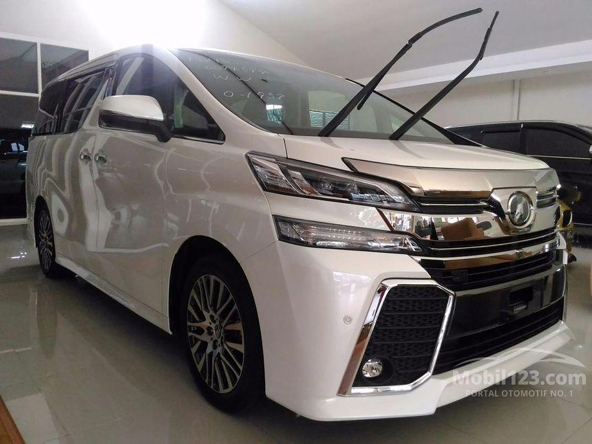 Jual Mobil Toyota Vellfire 2017 G Limited 2.5 di Jawa ...