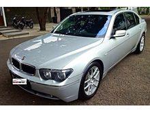 BMW 735 Li Sunroof  Tahun 2002 2003 Matic Silver Terawat Handy Autos