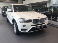 BMW X3 2.0 xDrive20i xLine 2016 ready stock