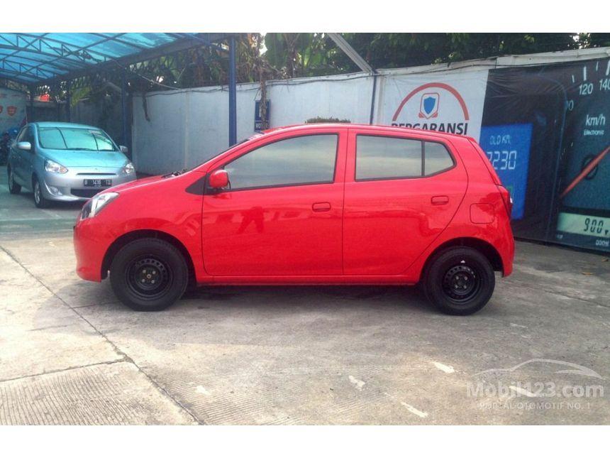 Daihatsu Ayla 2016 M 10 Di Banten Manual Hatchback Merah