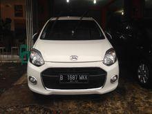 Daihatsu Ayla Type X Automatic 2014 Putih Super Istimewa