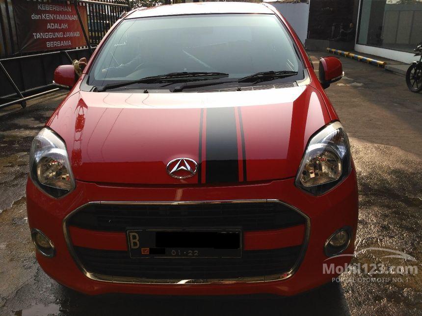 Jual Mobil Daihatsu Ayla 2017 X 10 Di Banten Manual