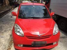 Daihatsu Sirion 1.3 M merah matic pajak panjang