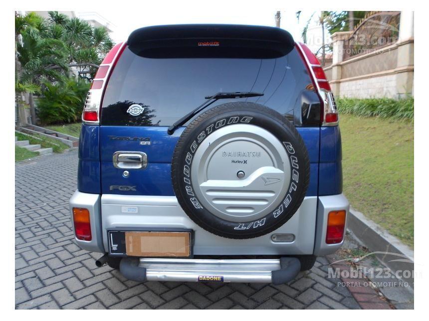 Daihatsu Taruna 2004 FGX 15 Di Jawa Timur Manual SUV Biru