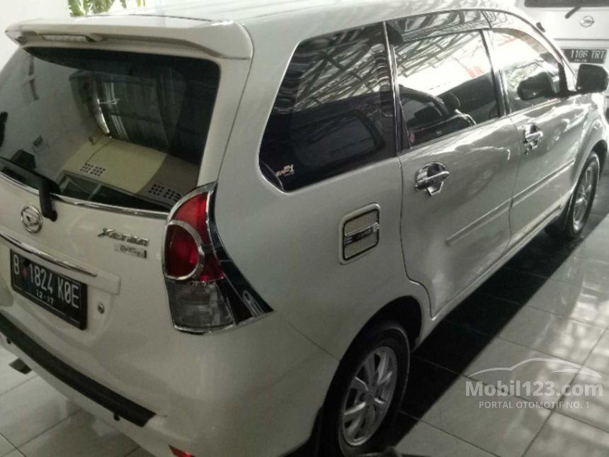 jual mobil daihatsu xenia 2012 r 1 3 di jawa barat manual mpv putih rp 3843528. Black Bedroom Furniture Sets. Home Design Ideas