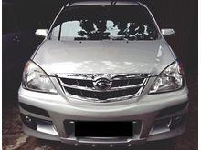 2010 Daihatsu Xenia 1.3 Xi SPORTY Warna Silver