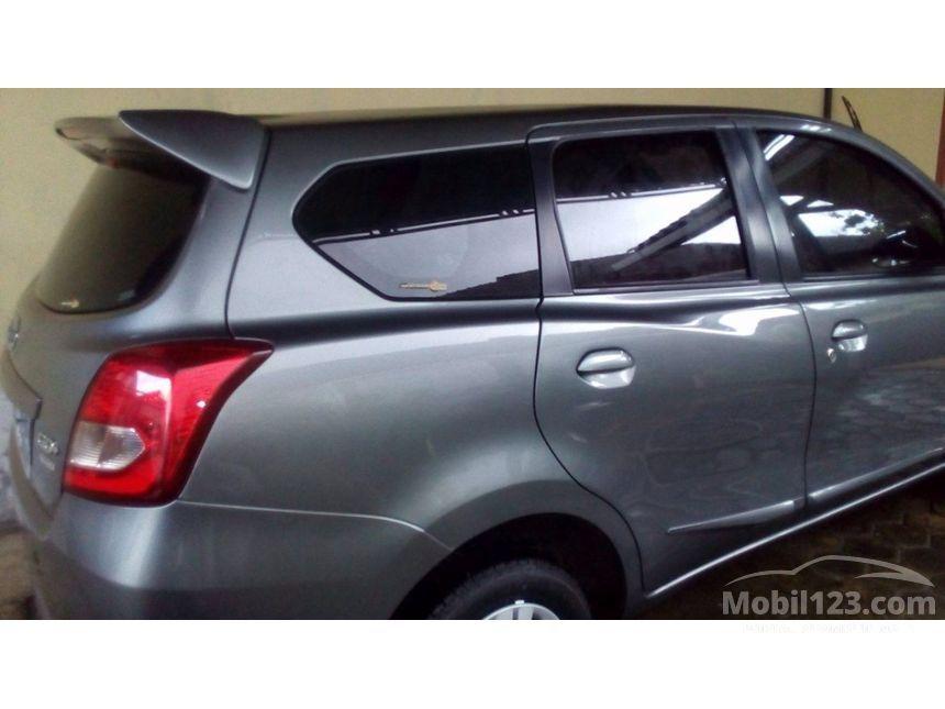Datsun GO+ 2016 T-OPTION 1.2 di Lampung Manual MPV Abu-abu ...