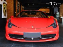 Ferrari 458 Spider Rosso Scuderia (2013)
