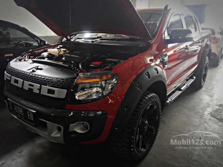 Jual Mobil Ford Ranger Double Cabin 2013 2.2 Automatic