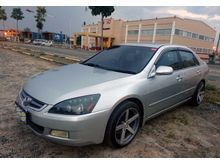 Honda Accord VTI-L AT V6 Silver Blue 2003