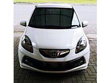 2014 Honda Brio Satya E, manual, km rendah, mulus abis