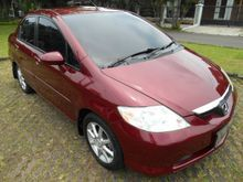 Honda City VTEC manual 2004 Merah, DP RINGAN