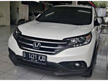 Honda CR-V 2.0 2013 AT white amazing , good condition
