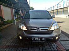Honda CR-V 2.4 i-VTEC 2007 AT abu-abu metalik TDp 20 juta saja