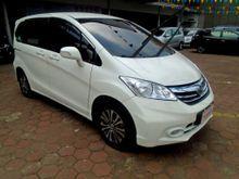 Honda Freed SD 2013 Putih Cantik, KM 30ribu, Full Mulus Full Ori