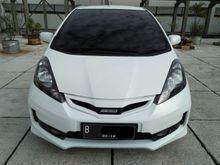 Honda Jazz RS 2013 Putih Metalik Pajak Panjang Feb 2018