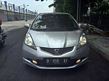 Honda Jazz 1.5 RS AT 2010 silver , GRESS , Top performance , good condition , TDP 15 juta