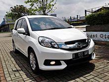Honda Mobilio 1.5 E CVT 2014 AT white service record resmi , good condition , Like new