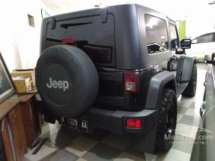 Jeep Wrangler 2009 3.8 di Jawa Timur Automatic Jeep Hitam ...