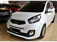 KIA Picanto 1.2 SE 3 2014 AT white , excellent condition , GRESS , Angs hanya 2 jtan