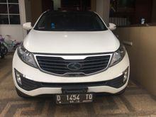 Jual KIA Sportage EX (sunroof) Warna Putih Mulus 2013 Matic