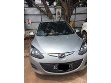 Dijual Mobil  Mazda 2 1.5 V HB 2013 Silver Mulus