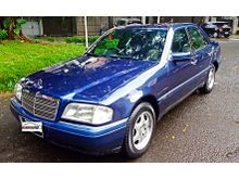 Mercedes benz C230 Tahun 1997 1998 Matic Biru Terawat