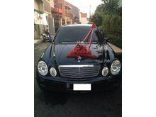 2005 Mercedes-Benz E200 Black, Excellent, Simpanan, Jarang pakai
