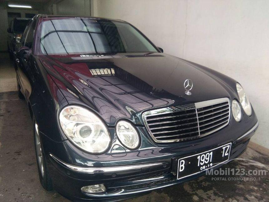 Mercedes benz e240 2004 2 4 di dki jakarta automatic sedan for E240 mercedes benz