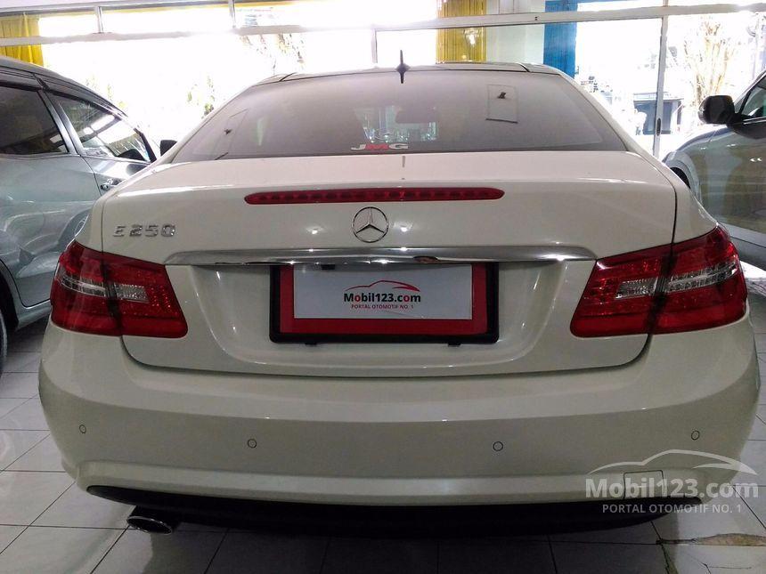 Mercedes-Benz E250 2011 1.8 Automatic 1.8 di Jawa Timur ...