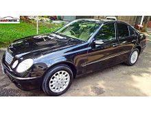 Mercedes benz E280 7G Tronic Tahun 2007 2008 Hitam Terawat Handy Autos