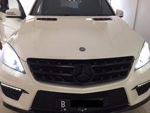 2013 Mercedes-Benz ML63 AMG 5.5 AMG SUV tangan 1 perfect tidak pernah tabrakkan pajak panjang dan free asuransi 1 thn