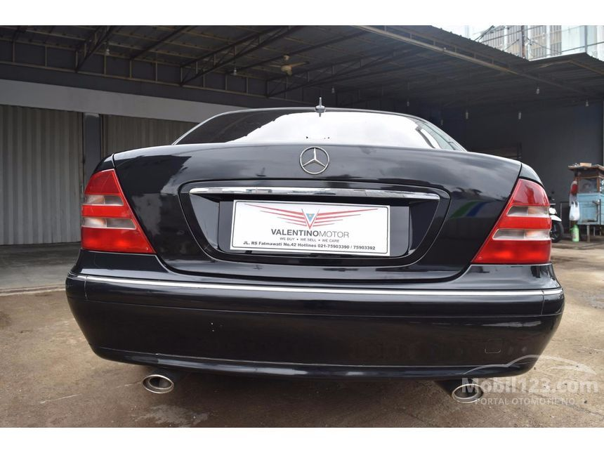 2000 Mercedes-Benz S280 W140 L6 2.8 Automatic Sedan