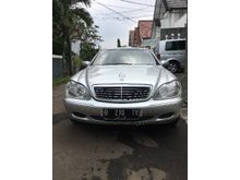 2000 Mercedes-Benz S280 2.8 W140 L6 2.8 Automatic Sedan