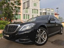 2015 Mercedes-Benz S400 3.5 W222 V6 3.5 Automatic Sedan Km7000 Full Spek TDP.499JT