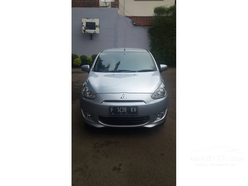 Jual Mobil Mitsubishi Mirage 2014 EXCEED 1.2 Automatic Hatchback Silver Rp 118.000.000 - 3800763 ...