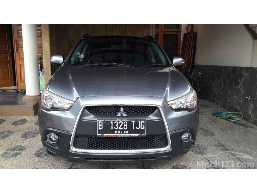 Jual Mobil Mitsubishi Outlander Sport 2013 PX 2.0 di DKI Jakarta Automatic SUV Abu-abu Rp 216 ...