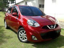 New Nissan March 2014 Merah Metalik Automatic 1.2