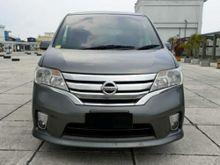 2014 Nissan Serena 2.0 Highway Star MPV