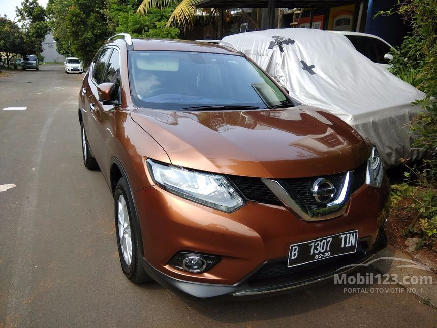 jual mobil nissan x trail 2015 2 0 di jawa barat automatic suv orange rp 3851043. Black Bedroom Furniture Sets. Home Design Ideas