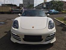 2012 2013 Porsche Boxster 2.7 PDK WHITE O